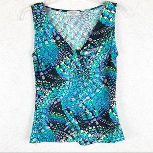 NWOT Tahari Arthur S Levine sleeveless top